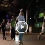 Video: Auf Rollen durch die Fuldaer Nacht