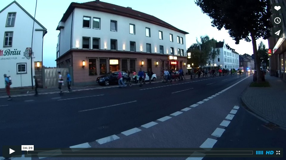 Video der Skatenacht Fulda vom 27.08.2014